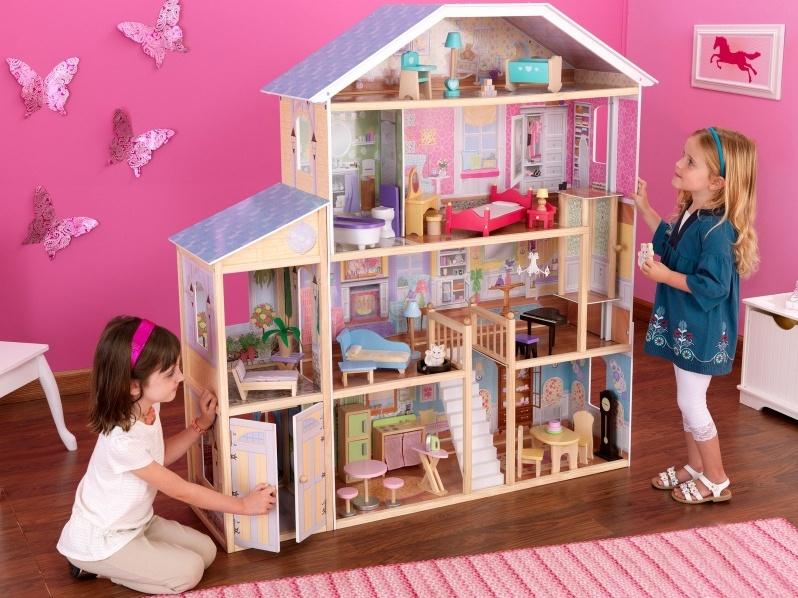 самые красивые домики для кукол своими руками