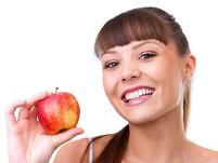 яблоки улучшают пищеварение
