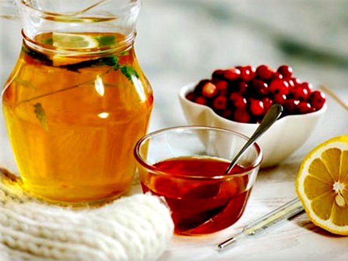 как приготовить морс из калины и меда от кашля
