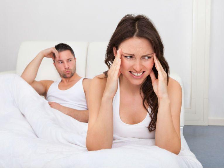 Во время секса очень болит голова