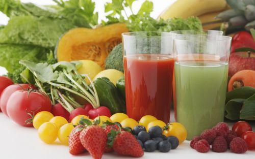 ДА свежеприготовленным фруктовым и овощным сокам